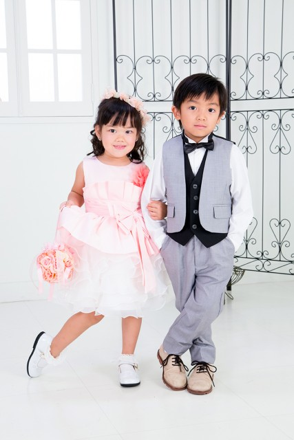 2016年七五三前撮りキャンペーンドレス&タキシード